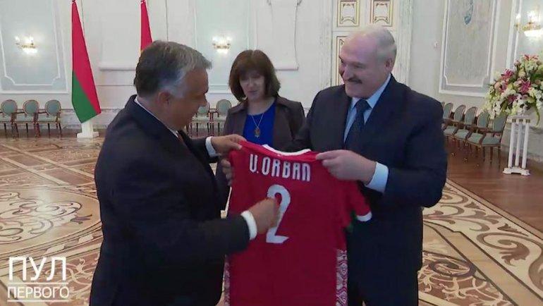 Александр Лукашенко иВиктор Орбан. Фото euroradio.fm.
