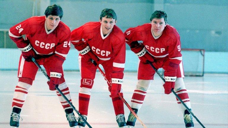 Сергей Макаров, Игорь Ларионов, Владимир Крутов. Фото Федор Алексеев