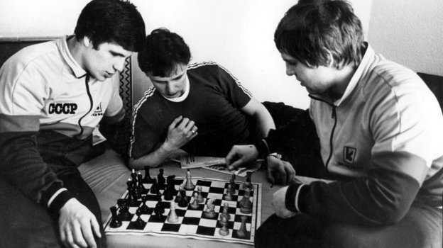 Сергей Макаров, Игорь Ларионов, Владимир Крутов. Фото Анатолий Бочинин