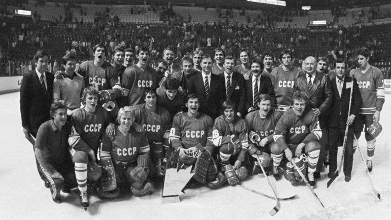 1981 год. Монреаль. СССР— Канада (8:1). Фото Валерий Зуфаров, ТАСС