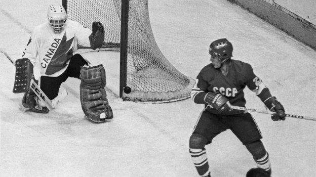 4июня 1981 года. Монреаль. СССР— Канада (8:1). Фото Валерий Зуфаров, ТАСС