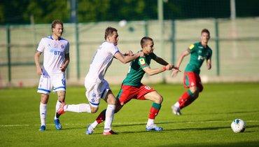 «Локомотив» и «Динамо» сыграли вничью вконтрольном матче