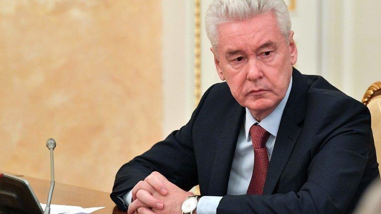 Сергей Собянин. Фото AFP