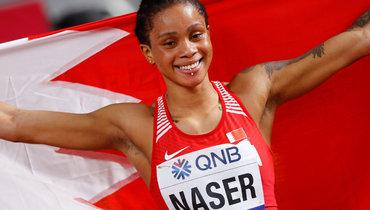 3октября 2019 года. Доха. Сальва Эйд Насер выиграла золото чемпионата мира взабеге на400м.