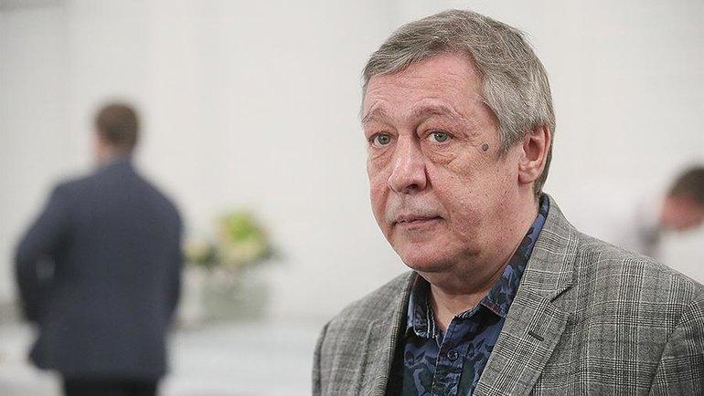 "Михаил Ефремов. Фото ""Известия""."