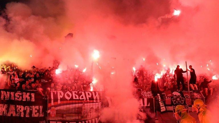 10июня. Белград. «Партизан»— «Црвена Звезда»— 1:0. Фото Twitter
