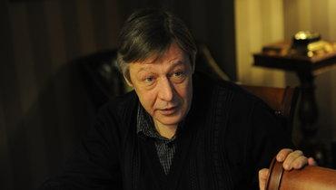 Известный актер Михаил Ефремов.