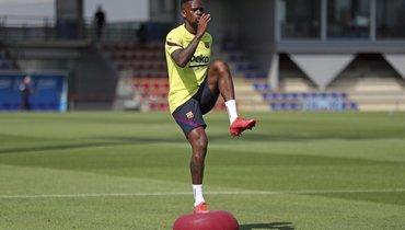 Семеду пропустил тренировку «Барселоны» из-за нарушения ограничительных мер