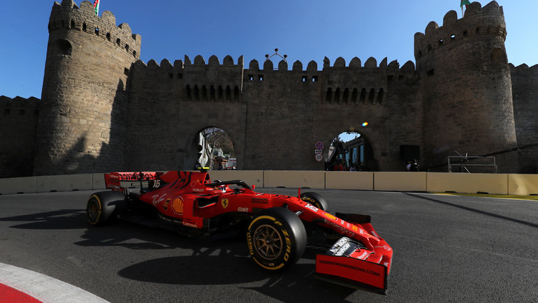 "Трасса ""Формулы-1"" в Баку, Азербайджан. Фото Reuters"