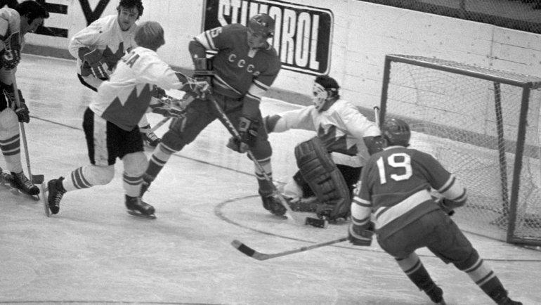 Разбираем статистику противостояния советского иканадского хоккея. Фото ТАСС