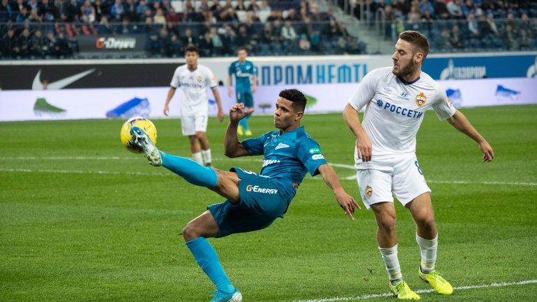 «Зенит» иЦСКА провели товарищеские матчи. Фото ФК «Зенит»