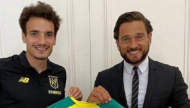 «Нант» подписал игрока «Ливерпуля»
