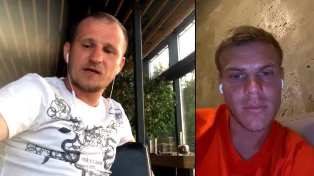 "Александр Алиев и Александр Кокорин. Фото Youtube-канал ""Кент"""