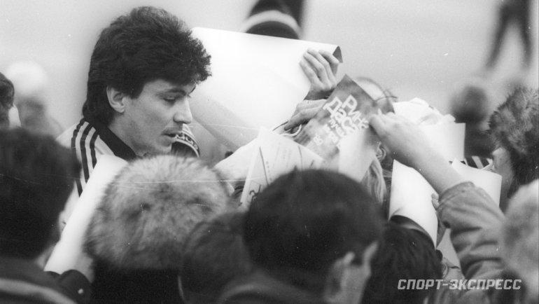 """Ринат Дасаев. Фото Александр Федоров, """"СЭ"""""""