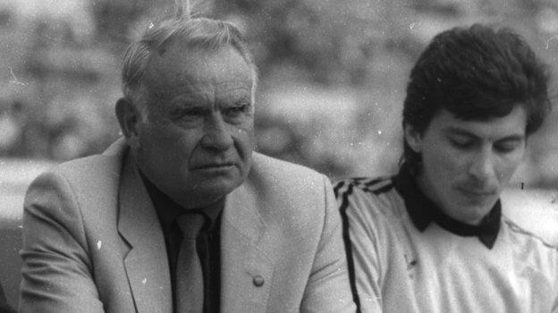 Константин Бесков и Ринат Дасаев