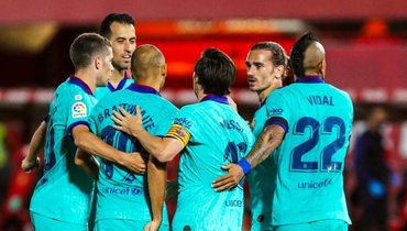 «Барселона» разгромила «Мальорку», уМесси гол идве передачи