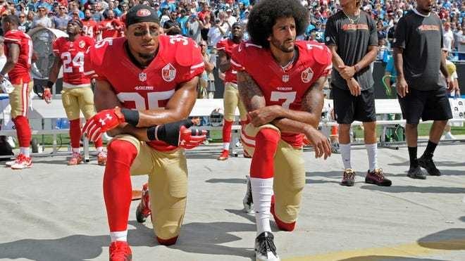 ВНФЛ продолжат бороться срасизмом. Фото USA Today Sports