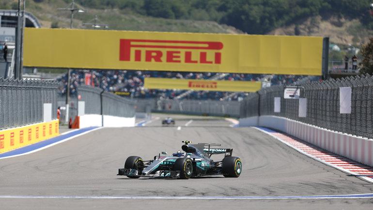 Российский этап «Формулы-1». Фото Виталий Тимкив.