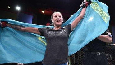 Мария Агапова— Ханна Сайферс: видеообзор боя UFC onESPN 10