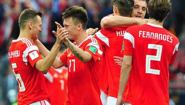 Лучше непридумать. Два года назад сборная России одержала разгромную победу встартовом матче домашнегоЧМ