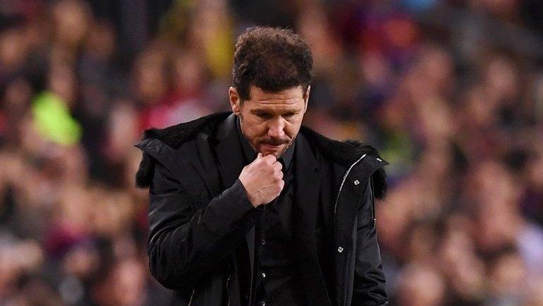 Главный тренер «Атлетико» Диего Симеоне. Фото Goal