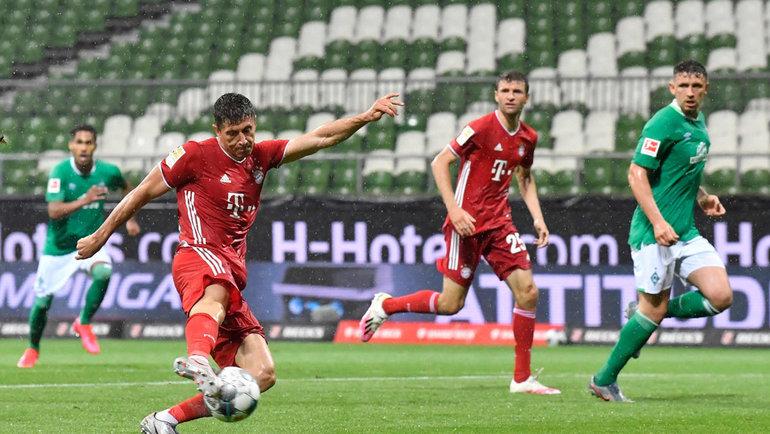 16июня. Бремен. «Вердер»— «Бавария»— 0:1. Фото AFP