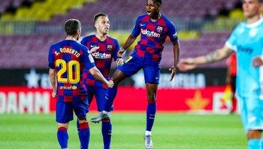 Голы Фати иМесси принесли «Барселоне» победу над «Леганесом»