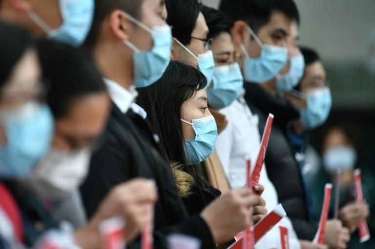Пандемия коронавируса вмире. Фото AFP