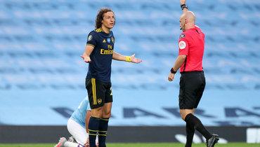 «Это была невина команды, амоя вина». Давид Луиз извинился заудаление вматче с «Манчестер Сити»