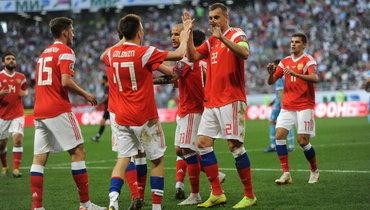 Стало известно расписание матчей сборной России наЕвро-2020