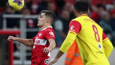«Спартак» сыграет с «Арсеналом» вторым номером?