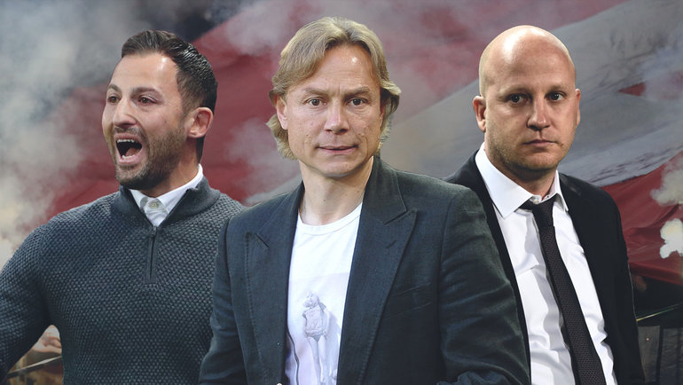 Доменико Тедеско, Валерий Карпин иМарко Николич.