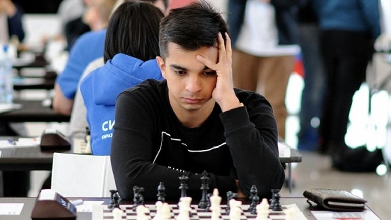 Арсен Кухмазов победитель третьего этапа  серии онлайн-турниров «Московский блиц». Фото ФШР