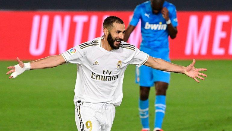 18июня. Мадрид. «Реал»— «Валенсия»— 3:0. Карим Бензема.