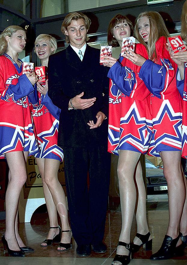 Молодые Могильный, Федоров иБуре. Несостоявшаяся тройка сборной СССР