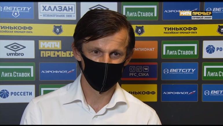 """Сергей Семак. Фото скриншот """"Матч Премьер"""""""