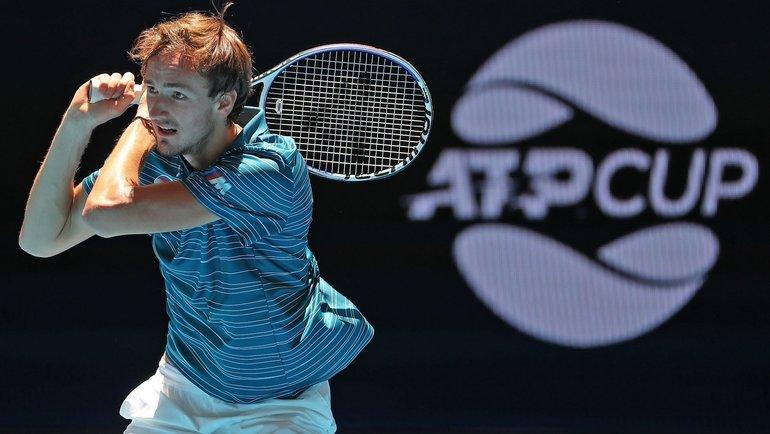 Даниил Медведев. Фото ATP.