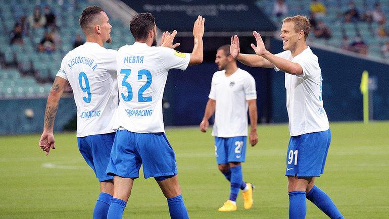 «Сочи» разгромил «Ростов» вматче 23-го тура РПЛ (10:1). Фото РПЛ.
