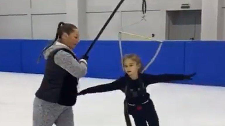 Тренировка Алены Жилиной. Фото instagram.com