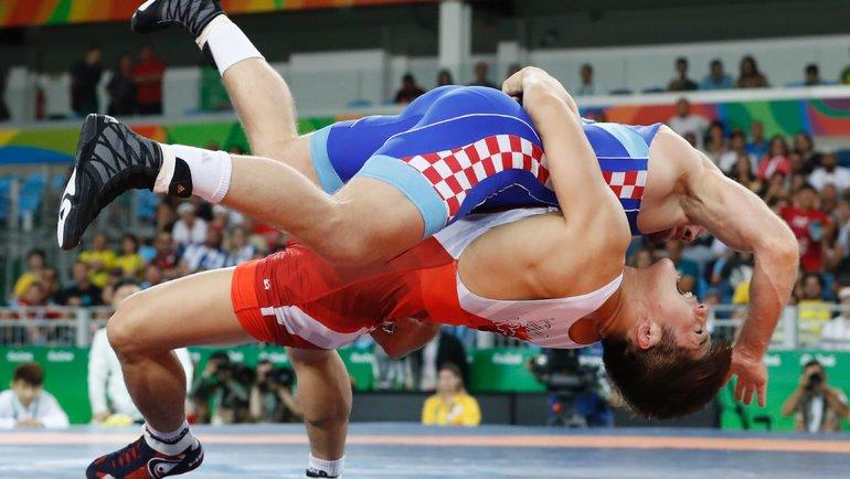 Греко-римскую борьбу могут исключить изпрограммы Олимпиады-2024. Фото Reuters