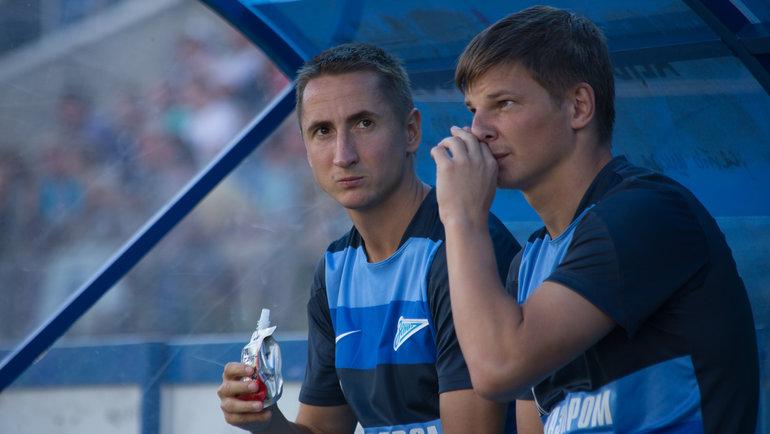 Владимир Быстров иАндрей Аршавин. Фото Кристина Коровникова.