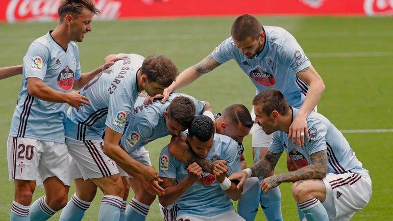 21июня. Виго. «Сельта»— «Алавес»— 6:0. Фото ФК «Сельта»