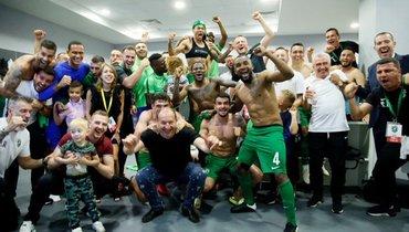 «Лудогорец» вдевятый раз подряд стал чемпионом Болгарии