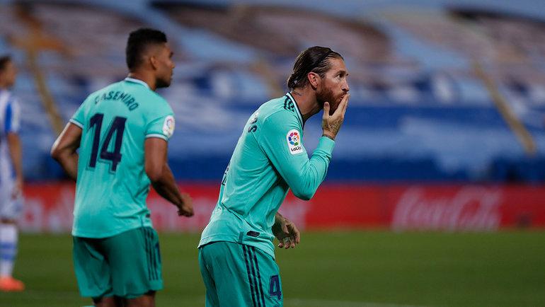 Каземиру иСерхио Рамос. Фото Twitter «Реала»0