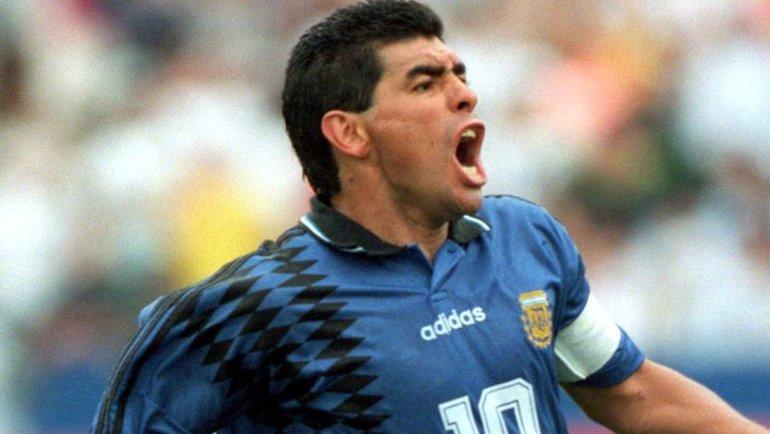 Диего Марадона. Фото Goal.com