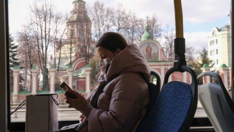 Эпидемия коронавируса вМоскве. Фото Reuters