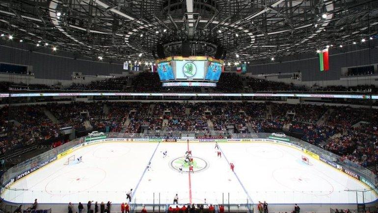 «Минск-Арена» будет главной площадкой ЧМ-2021.