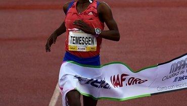 Эфиопская бегунья получила 12 лет заподдельную справку