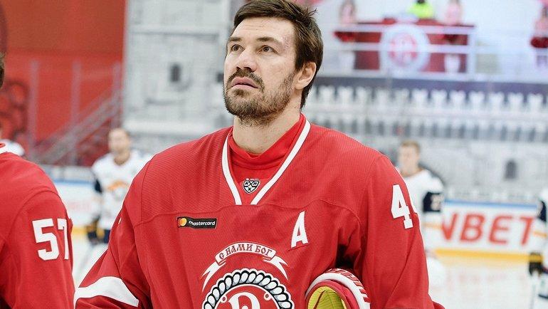 Евгений Артюхин. Фото ХК «Витязь»