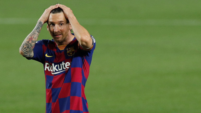 23июня. Барселона. «Барселона»— «Атлетик»— 1:0. Лионель Месси.